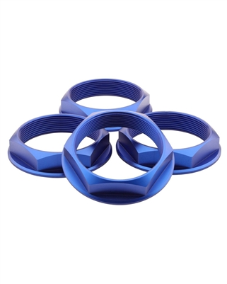 fifteen52 Super Touring Hex Nut Set - Anodized Blue
