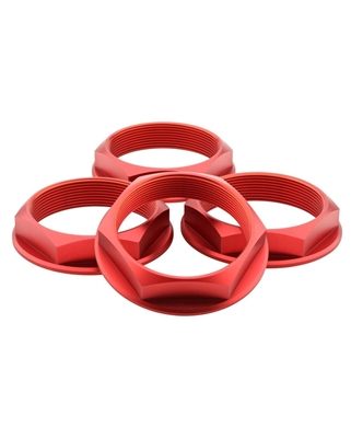 fifteen52 Super Touring Hex Nut Set - Anodized Red