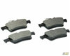 mountune RS-R Rear Brake Pad Set, Focus ST 2013-2018