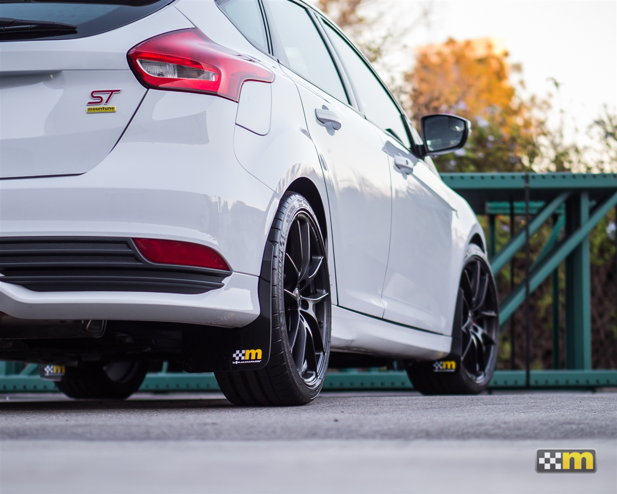 Focus St Mud Flaps >> Mountune Rally Armor Mud Flap Set Focus St Rs