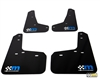 mountune Rally Armor Mud Flap Set Blue Focus ST RS