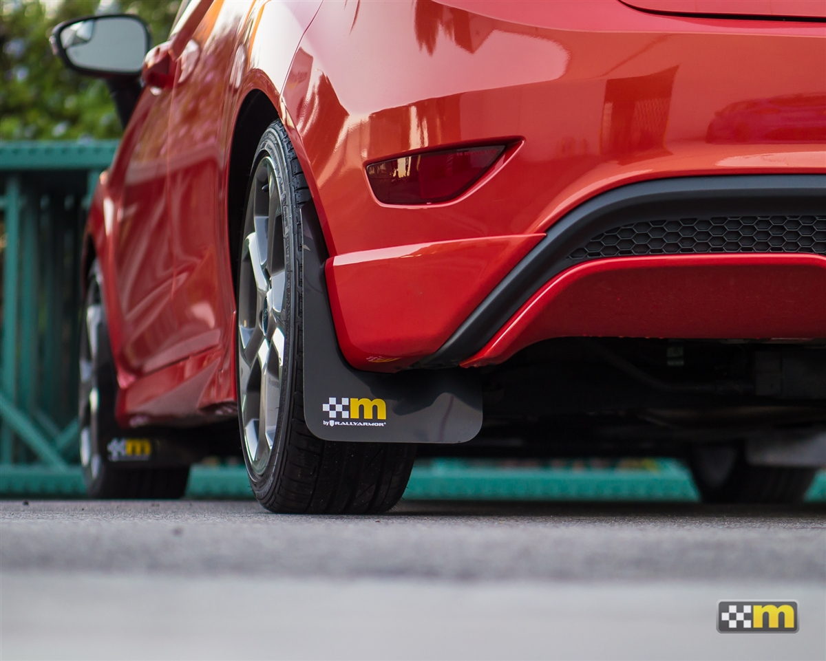 Focus St Mud Flaps >> Mountune Rally Armor Mud Flap Set Fiesta St