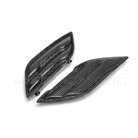 2017-2020 Ford Raptor Type-OE Carbon Fiber Fender Vents Pair
