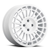 fifteen52 Integrale Wheel - 17x7.5 - Rally White - Ford Fiesta ST