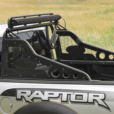Ford Performance Race Series Chase Rack with Light Bar - Ford F-150 Raptor 2017-2018