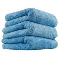 Chemical Guys Happy Endings Blue Edgeless Microfiber Towel