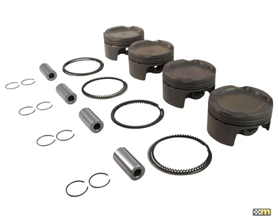 Supertech Forged Piston Set - Duratec 9:1 (2.3L) 8:1 (2.0L)