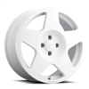 fifteen52 Tarmac Wheel - 17x7.5 - Rally White - Ford Fiesta ST