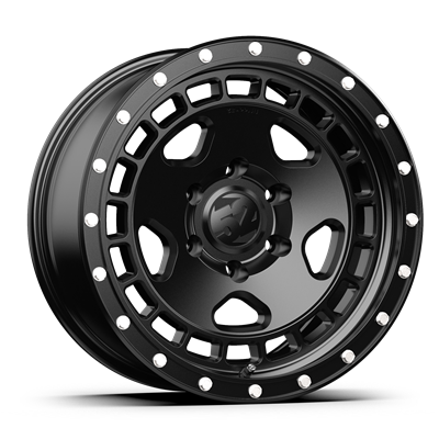 fifteen52 Turbomac HD Ford Ranger/Bronco Wheel - 17x8.5 - Asphalt Black