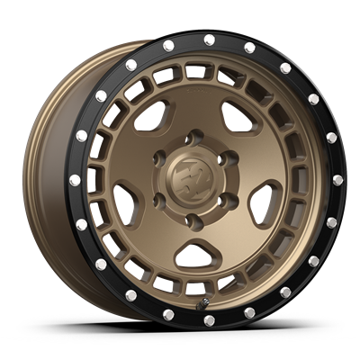 fifteen52 Turbomac HD Ford Ranger/Bronco Wheel - 17x8.5 - Block Bronze