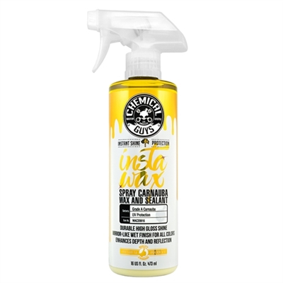 CHEMICAL GUYS INSTAWAX LIQUID CARNAUBA SHINE AND PROTECTION SPRAY