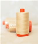 Favorite Thread: Aurifil Cream