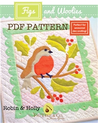 FIGS & WOOLIES: Robin & Holly Downloadable