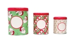 ON SALE! TRIO OF CHRISTMAS TINS