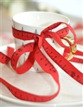 Red Tape Measure Ribbon