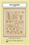 Choose any color palette - bright, pastel, country - and watch this vintage garden bloom with wonderful, simple applique pieces and fun, quick strip-pieced blocks.