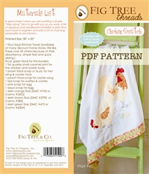Chicken Scratch Pattern Downloadable