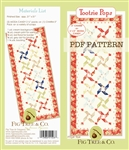 Tootsie Pattern using MODA CANDY PACKS