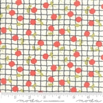 IVORY APPLES Yardage
