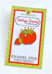 Enamel Pin: Tomato Pincushion