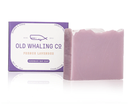 Old Whaling Co.: Lavender Soap- 1 left