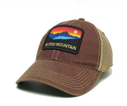 7afd2471caa90 Appalachian Trail Blood Mountain Patch Hat