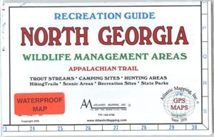 Show A Map Of Georgia.North Georgia Wma Map