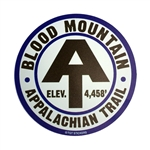 Blood Mountain Car Magnet