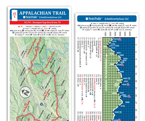Pocket Appalachian Trail Map: Georgia | Maps | Books & Maps
