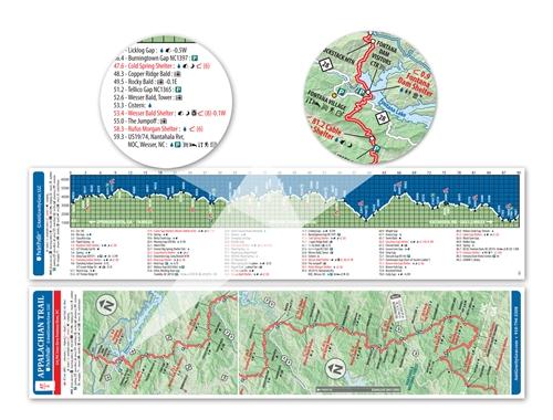 Pocket Appalachian Trail Map: North Carolina | Maps | Books & Maps on