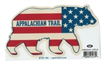 American Bear AT Sticker