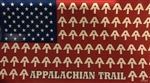 American Flag Appalachian Trail Sticker