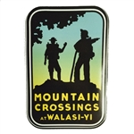 Mountain Crossings Sticker