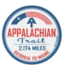 Appalachian Trail For President Sticker