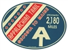 Patriotic Appalachian Trail Sticker