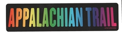 Rainbow Appalachian Trail Sticker