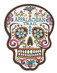 Appalachian Trail Sugar Skull Sticker