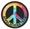 Tye Dye Appalachian Trail Peace Sign Sticker