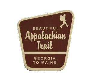 Mountains 2.37 x 3.85 in; Take A Hike Custom Hand Drawn Sticker; Custom Sticker; Custom Art; Hand Lettered; Hand Drawn Sticker