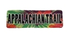 Appalachian Trail Tie Dye Sticker