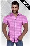 J-Lan Elite Short Sleeve Dress Shirt