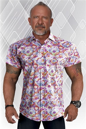 Paulo ELITE Short Sleeve Dress Shirt