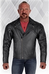 BROOKLYN GOATSKIN LEATHER JACKET