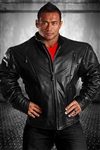 WIDE GLIDE LEATHER JACKET