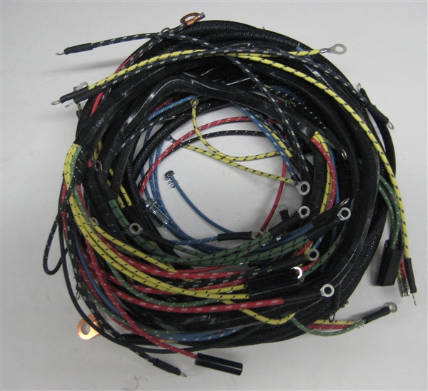 willys america jeepster wiring harness for willys overland vehicles rh shop willysamerica com