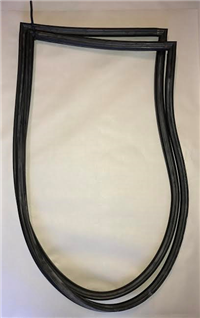 Windshield Rubber Seal - Jeepster