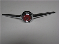 Hood Ornament 2 Wing with Cast Insert