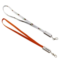 3-in-1 Lanyard Charging Cable