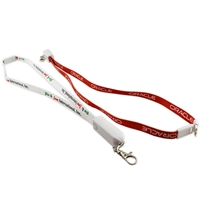 3-in-1 Breakaway Lanyard Charging Cable