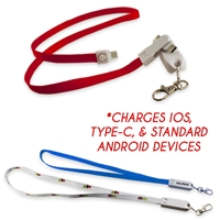 3-in-1 Type-C Lanyard Charging Cable